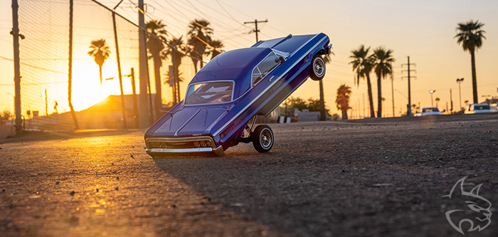 Redcat releases a fully functional hopping radio control lowrider, the SixtyFour.