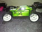 "Mini 8ight with Phat Bodies ""Turbo"" lid...... i think the lime green turned out nice......"