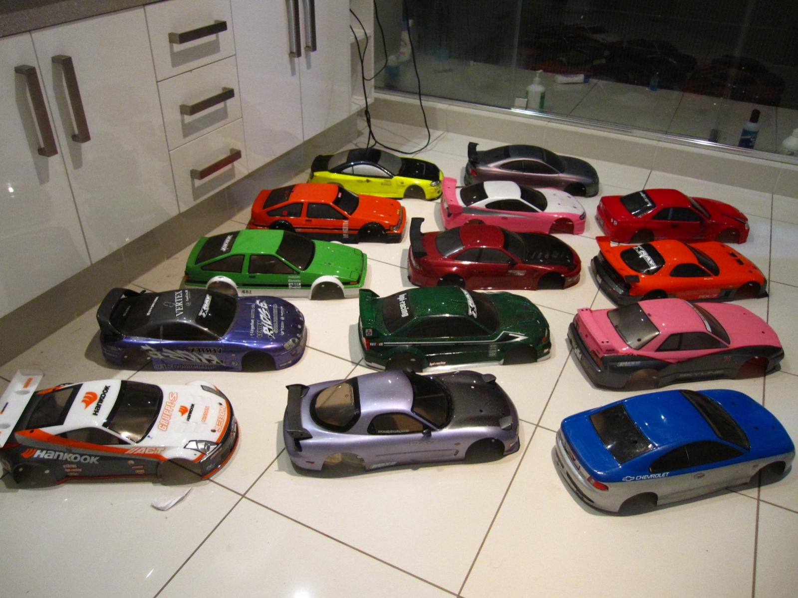 1 10 scale rc car bodies for sale drifters muscle cars. Black Bedroom Furniture Sets. Home Design Ideas