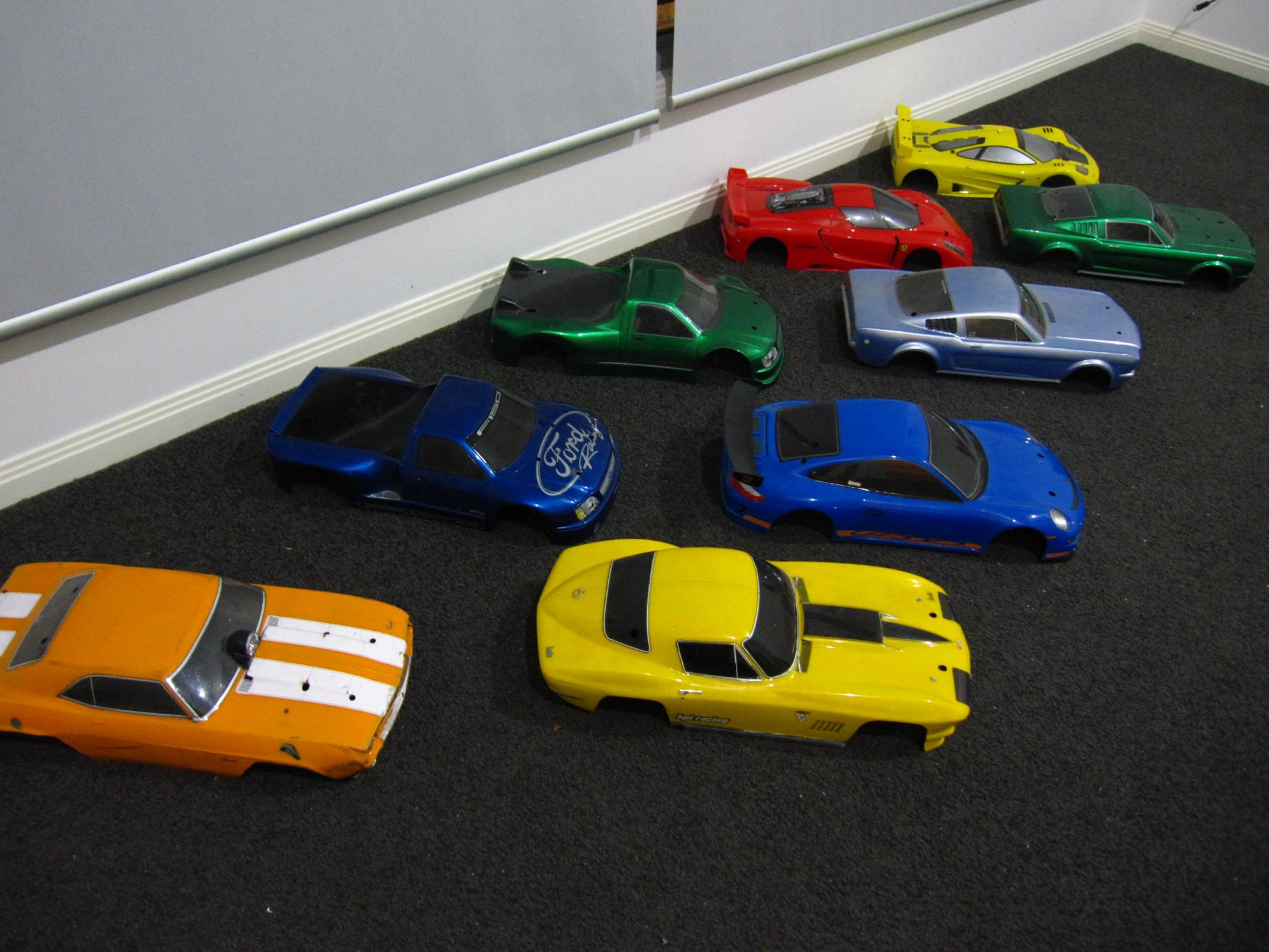 1/10 Scale Rc Car Bodies For Sale
