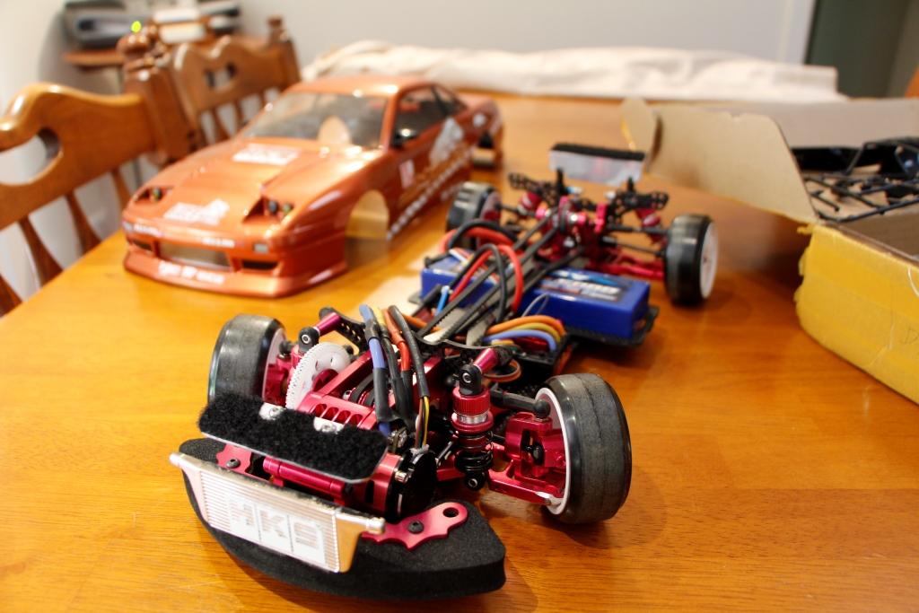Sakura D3 CS Full Carbon Fibre and Alloy Hop-up RC Drift ...