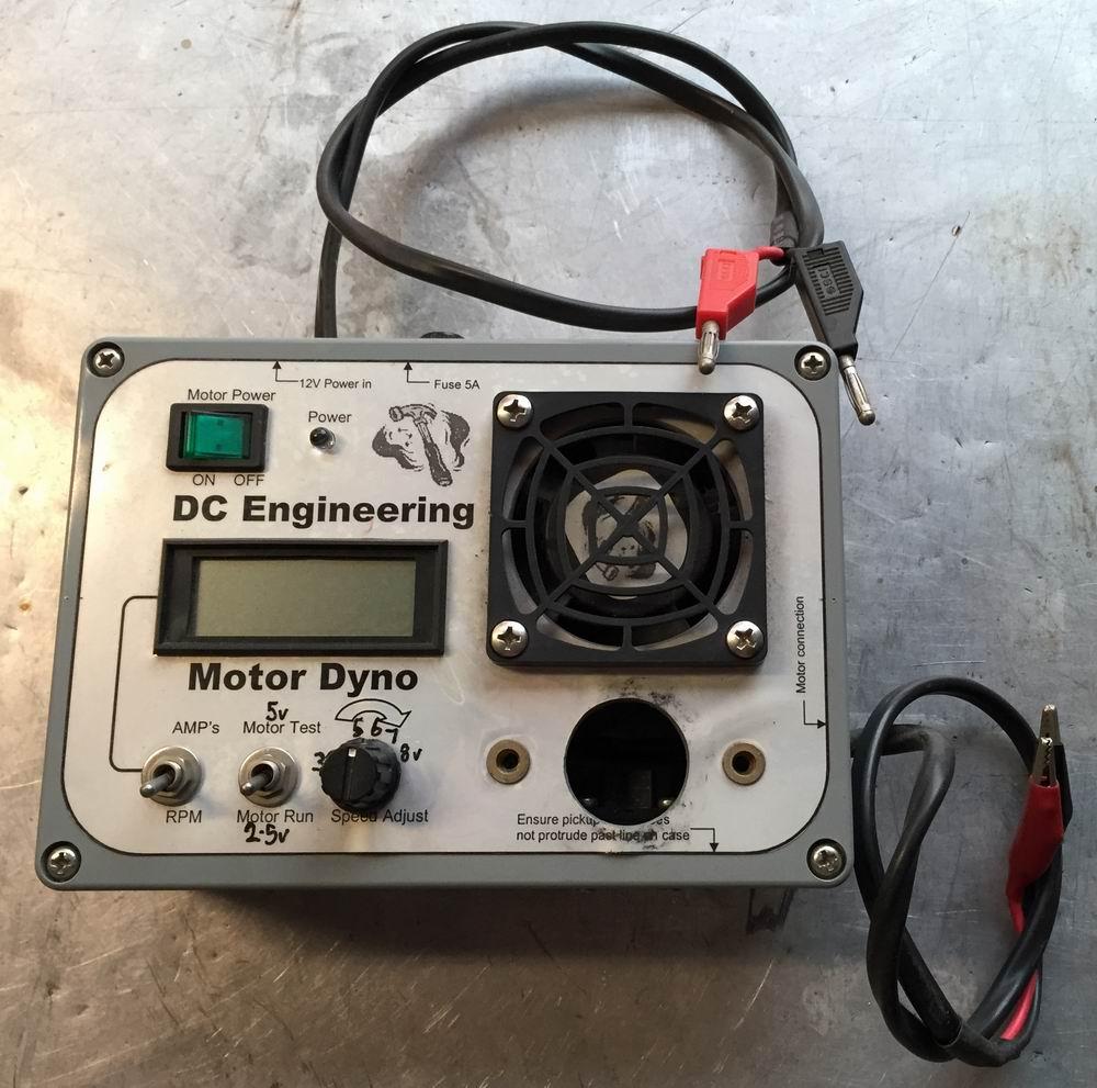 Break in brushed motor for Rc electric motor dyno