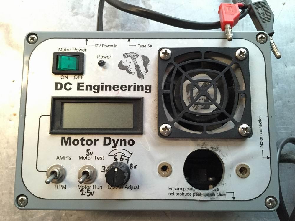 Brushed motor checker, tester, break in, Dyno unit, Geek box-003