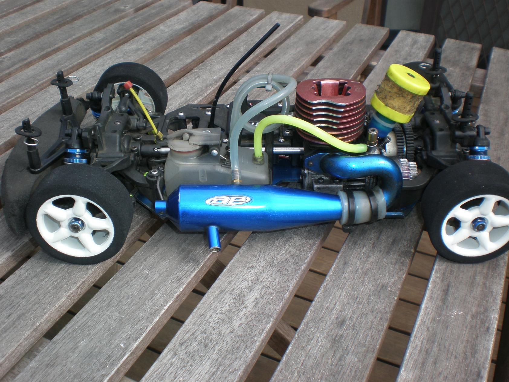 Team Associated Nitro tc3 p