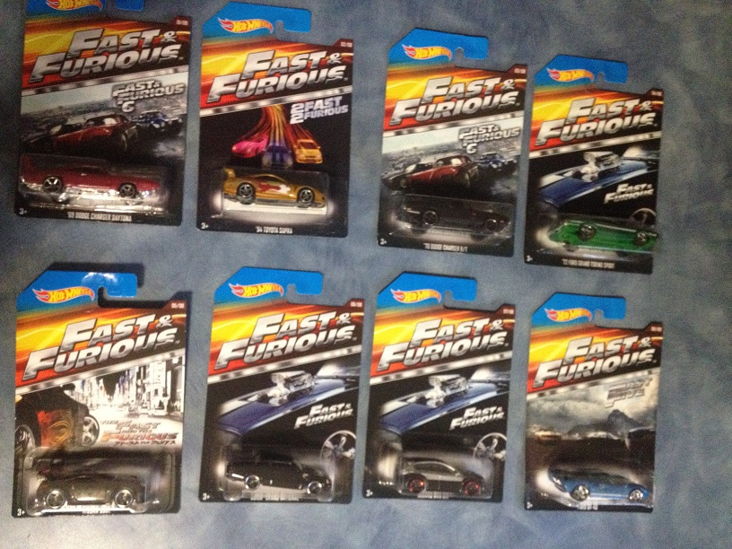 Non R C 2015 Edition Hot Wheels Fast And Furious 1 64