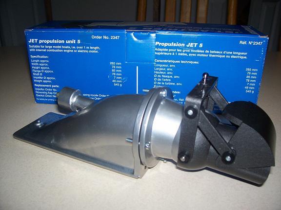 R/C zenoah g260pum and hamilton style jet unit - R/C Tech ...
