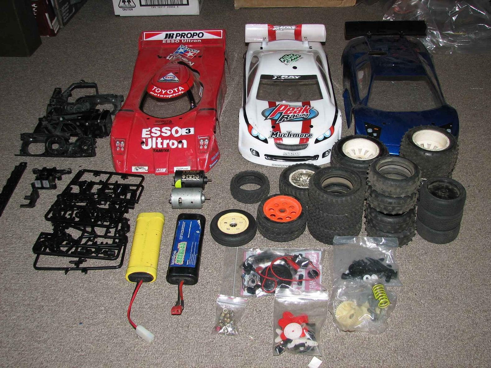 Stayin Alive' UPDATE for Cars and Parts for Charity ' RC