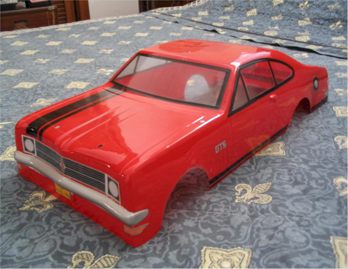 Old Muscle Car Shells Painted Pics R C Tech Forums
