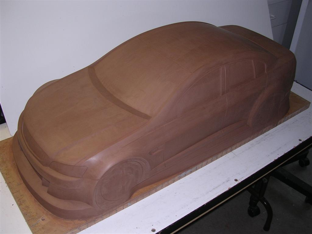 1-5th scale Series II Holden Commodore V8 Supercar body shell