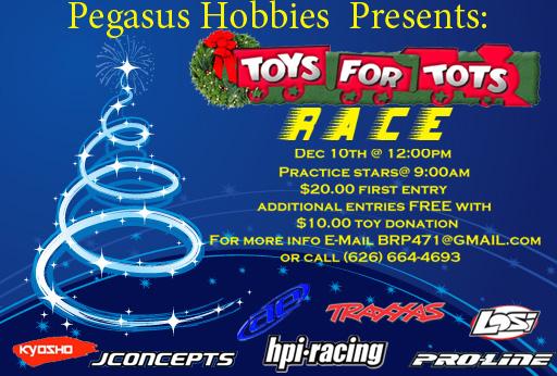 Toys For Tots Flyers 2012 : Pegasus hobbies raceway sched r c tech forums
