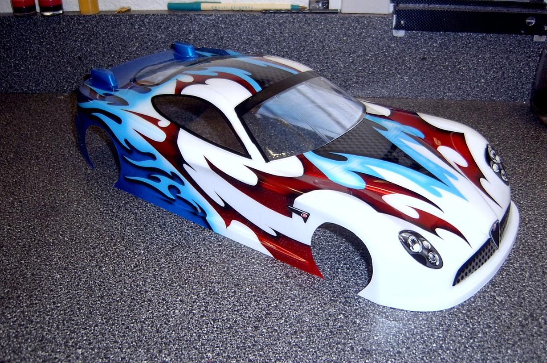 Rc Car Body Spray Paint