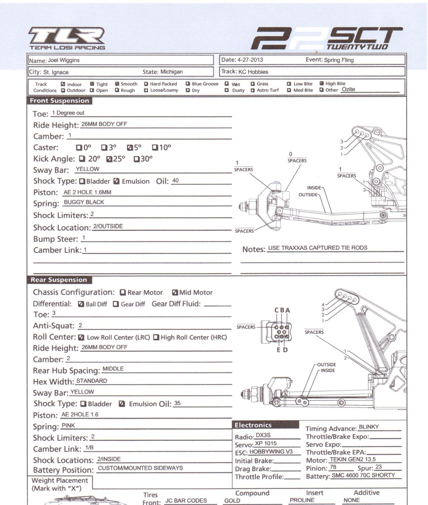 Tlr 22sct Thread Check First Page For Faq Amp Info R C