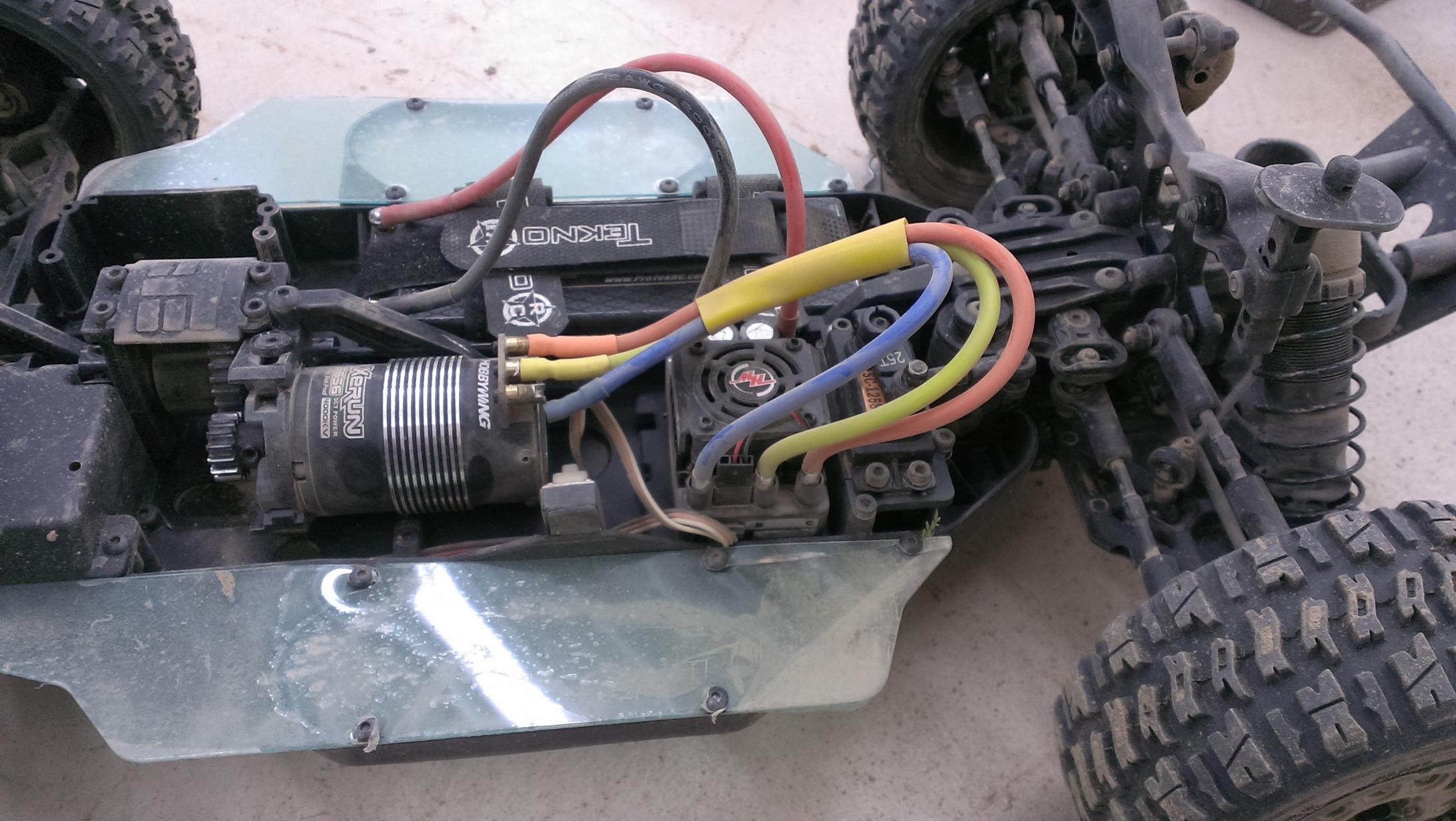 Tekno 410 3  Esc To Motor Wiring Problem   C Tech Forums