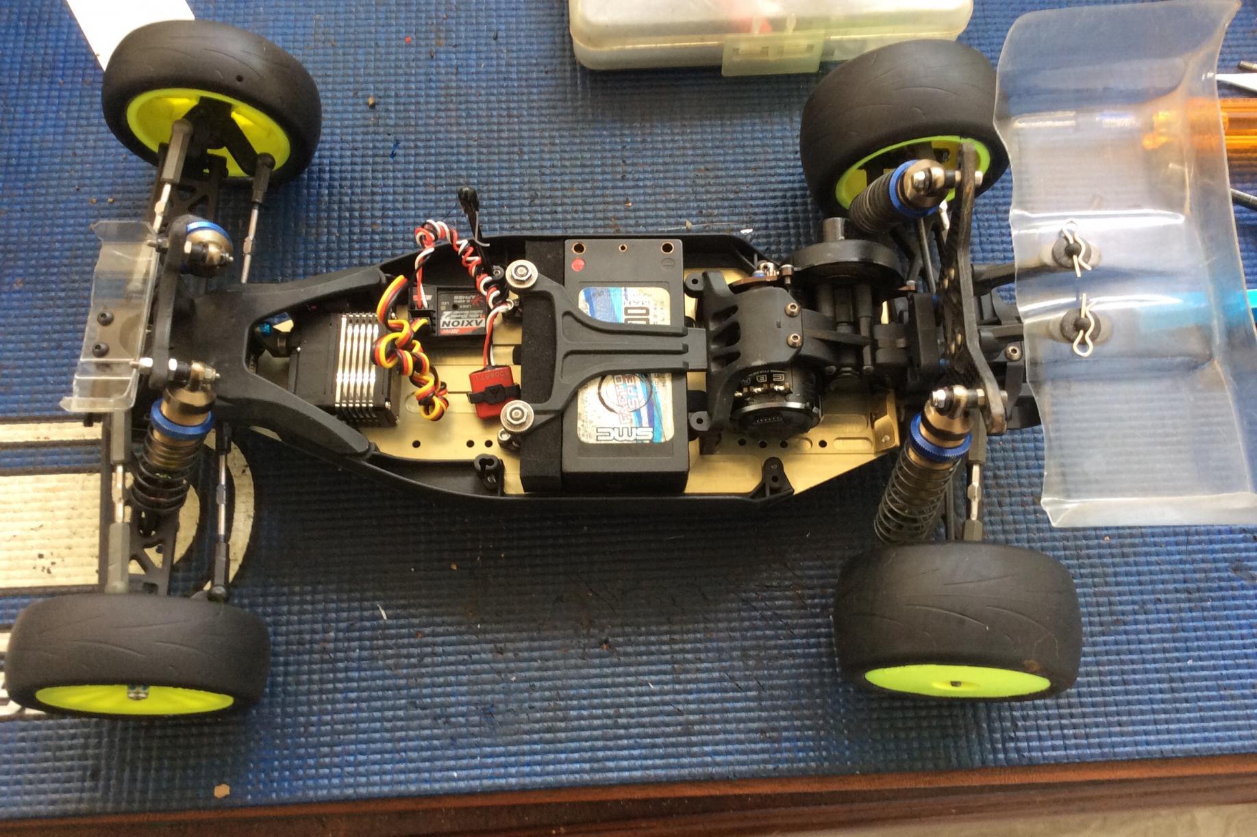 RB6.6//LD Kyosho UM739 LD Gear Cover Set