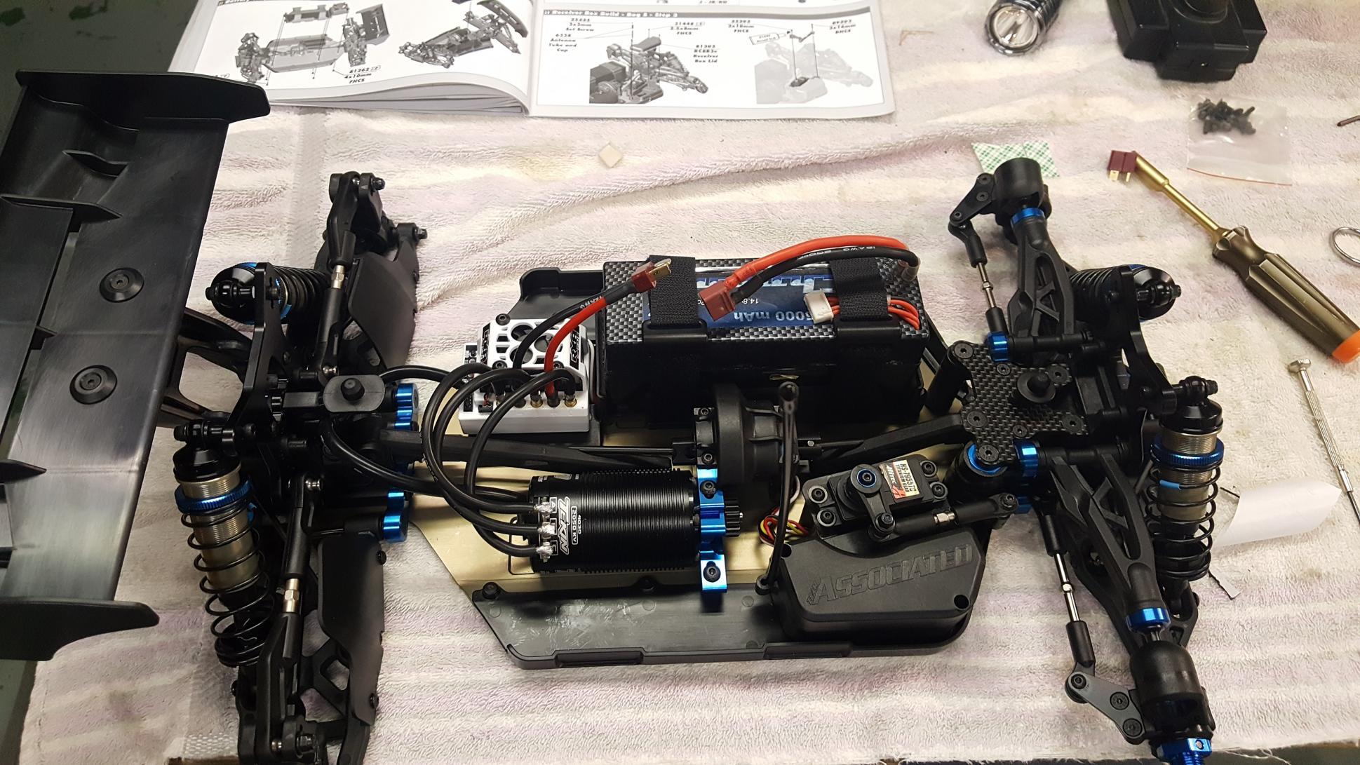NEW Associated RC8B3 RC8B3e RC8T3 RC8T3e Gearbox 81015