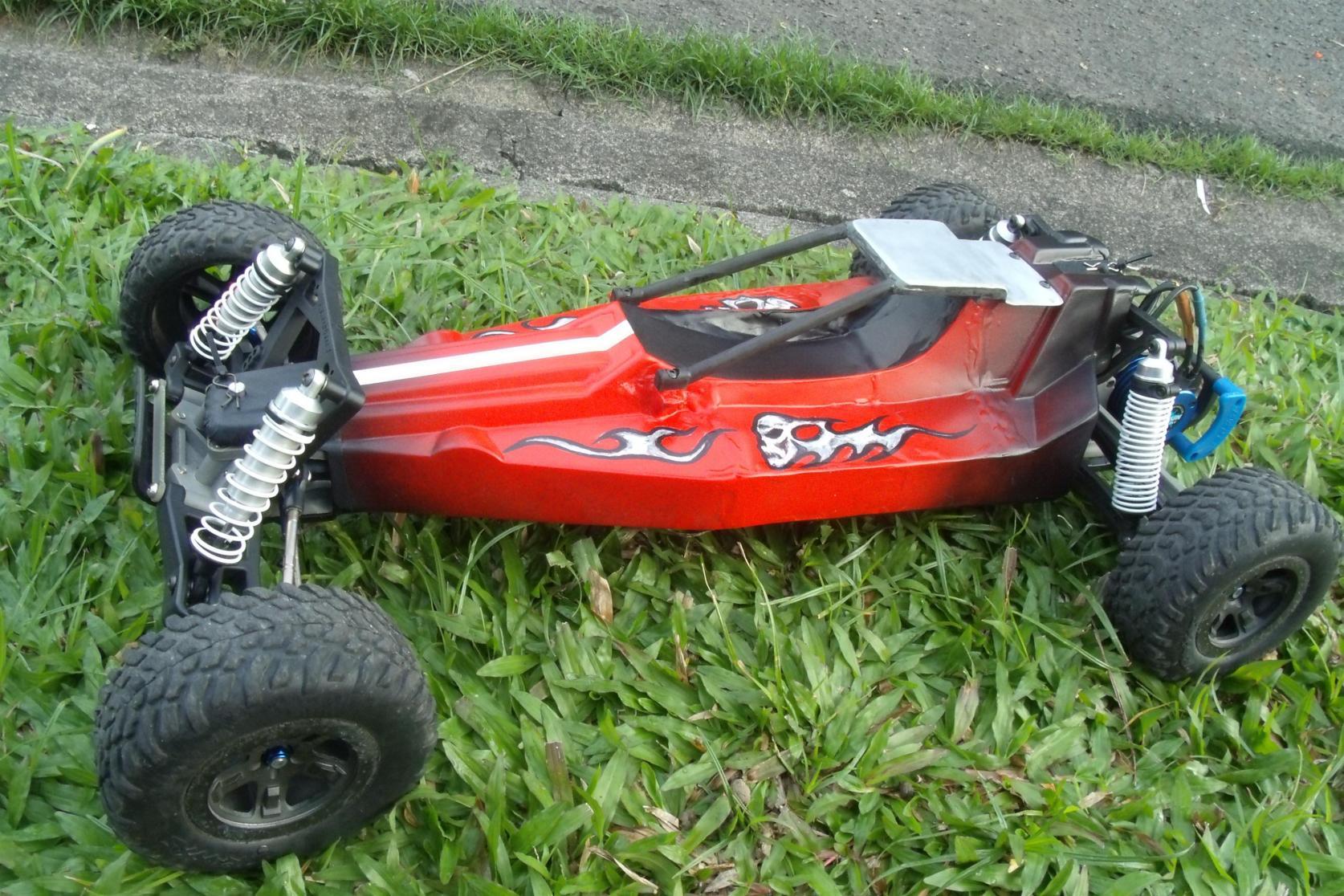 Traxxas Rustler 1 8 Buggy Build R C Tech Forums