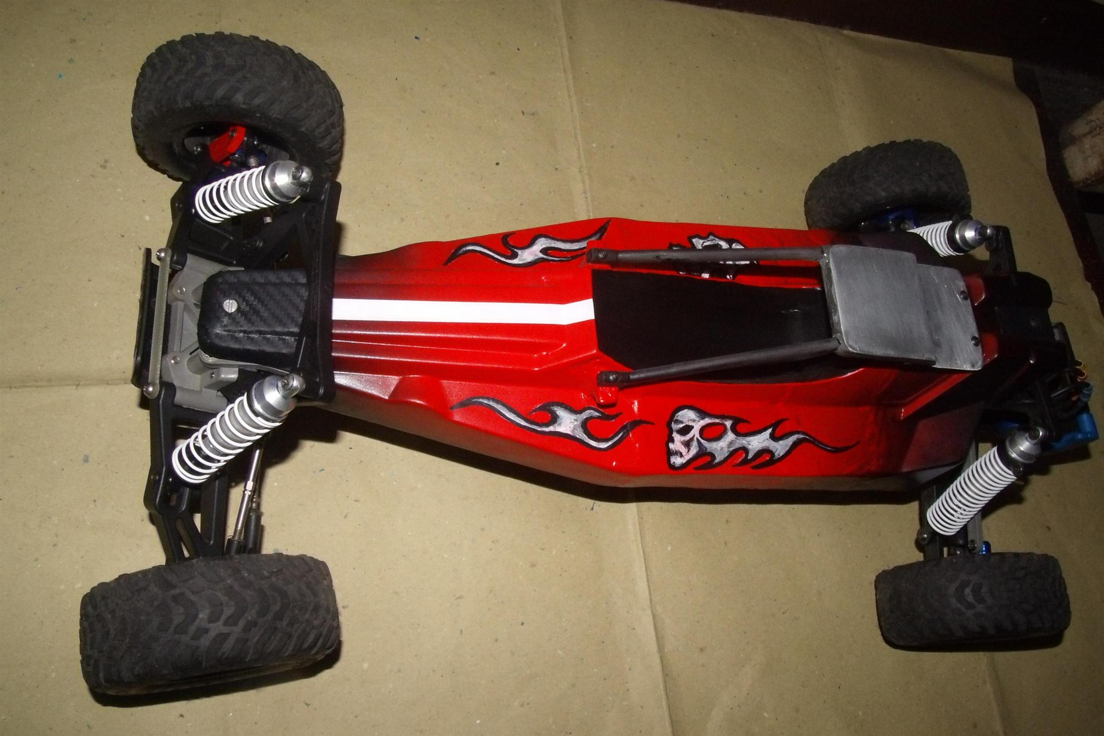 Traxxas Rustler 1 8 Buggy Build small gedc2527