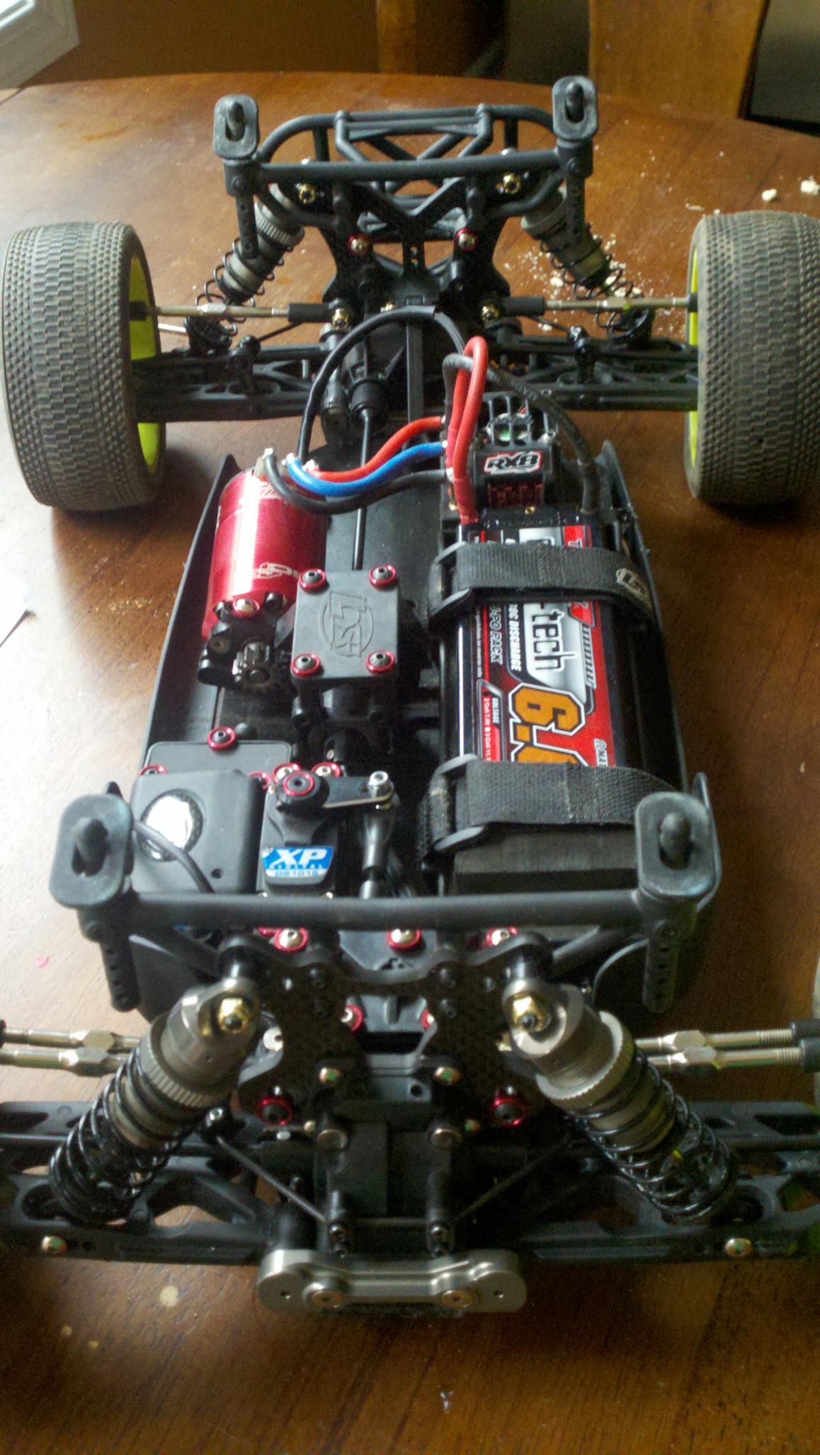 8 NEW Losi TEN-SCTE Rear Shock Spring Tuning Set LOSB2963
