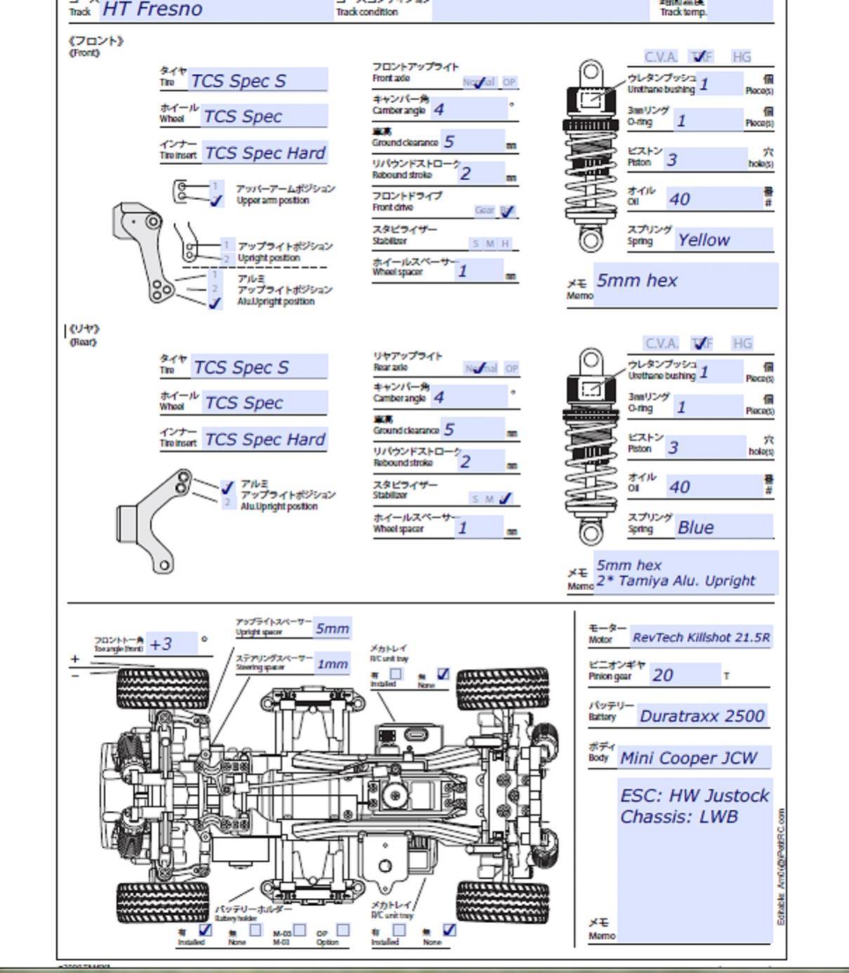 how to setup a pdf