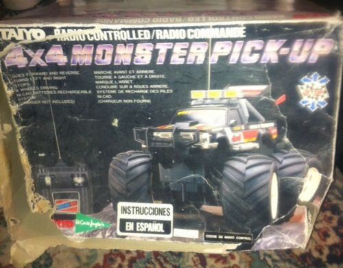 D Vintage Rc Tyco Taiyo Nikko S S X Monster Pick Up