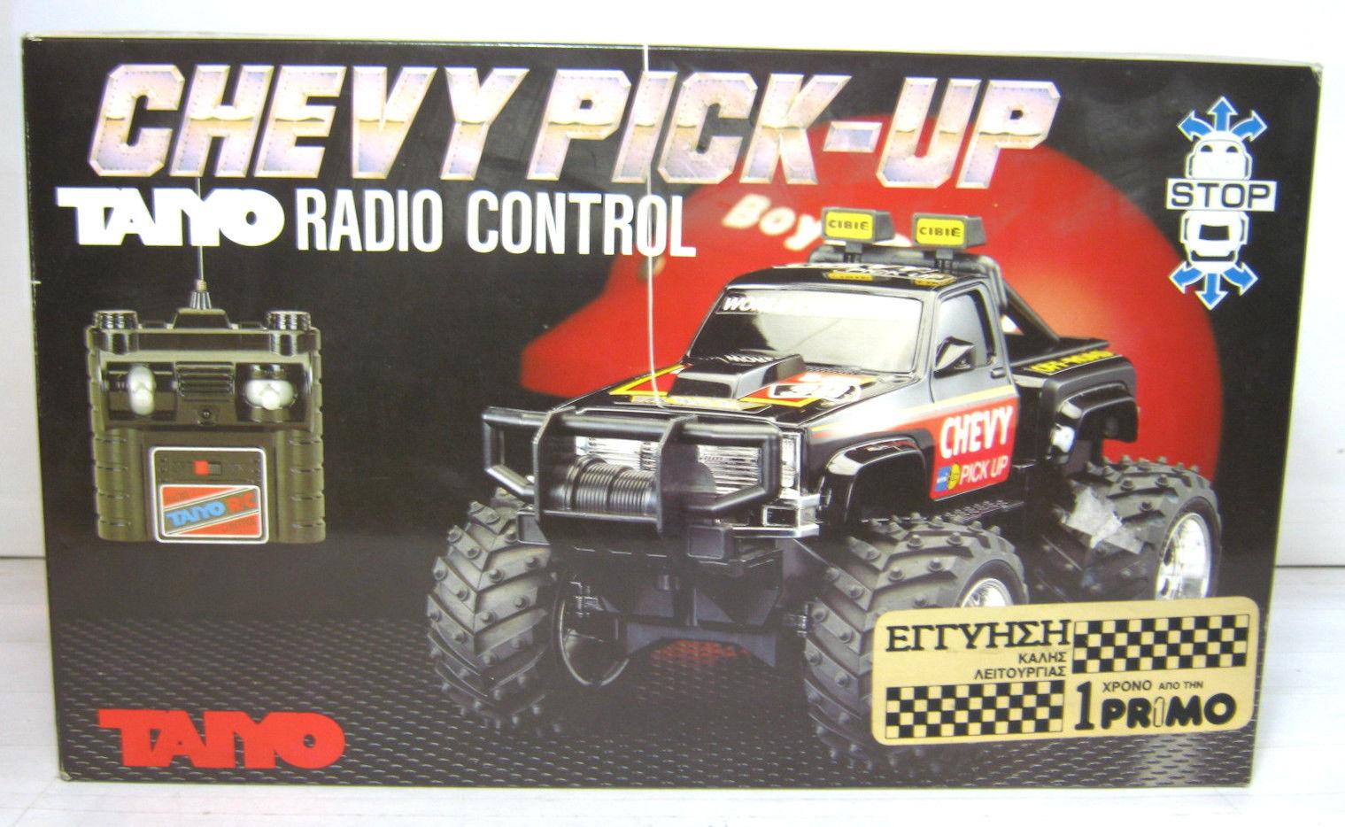 D Vintage Rc Tyco Taiyo Nikko S S Chevy Pick Up