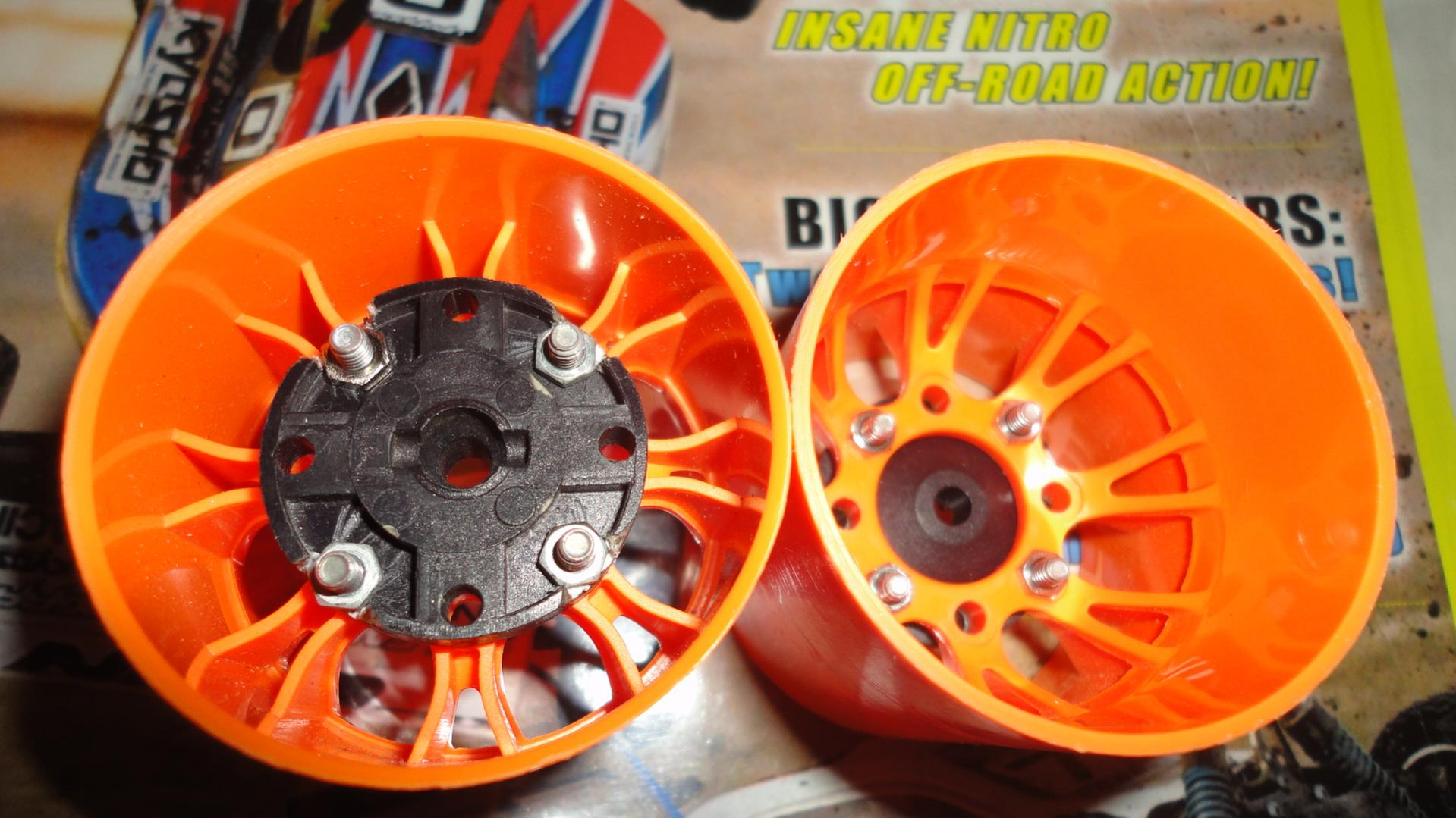 Adapting Pan Car Or F1 Wheels F Amp R To 1 10 Sedan R
