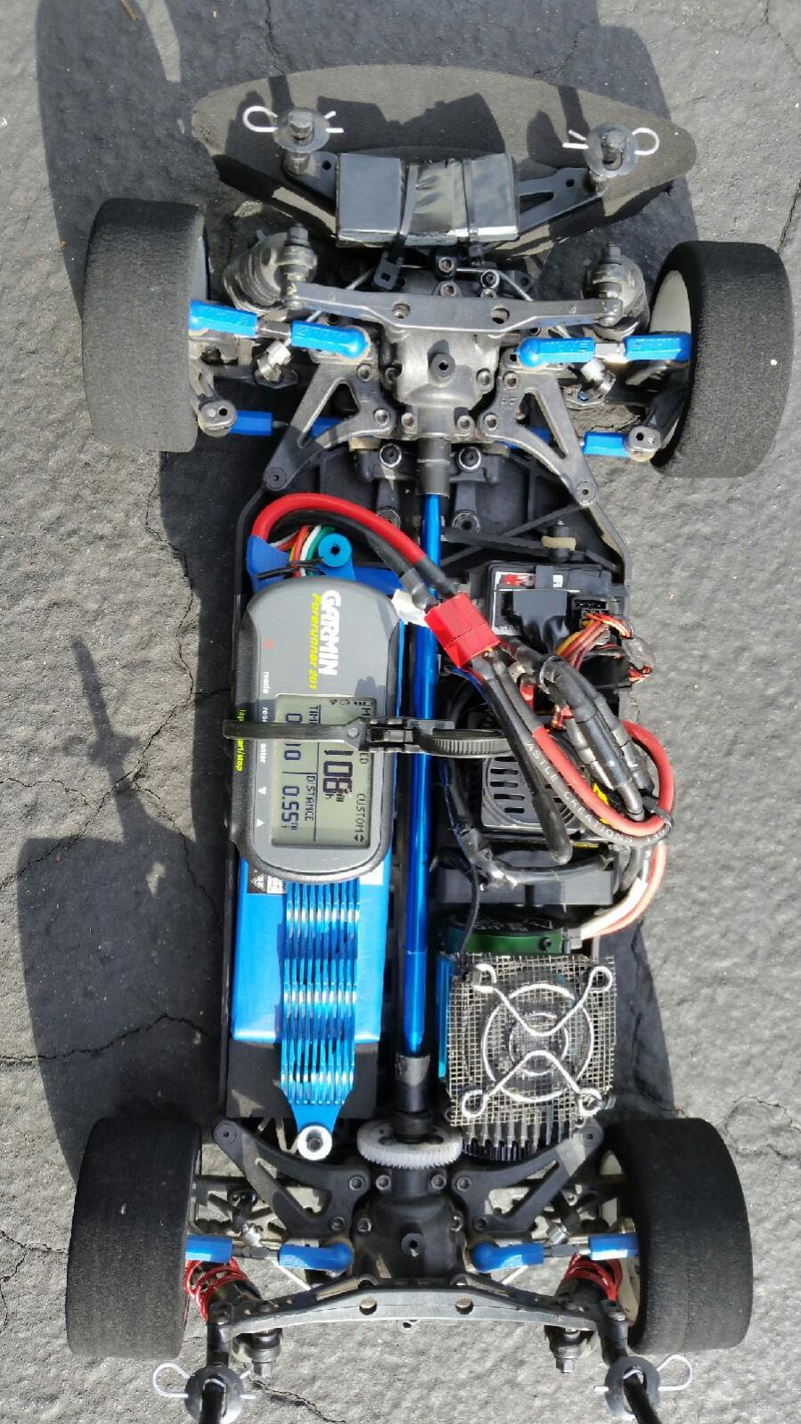 NEW Associated TC4 Battery Strap 31126