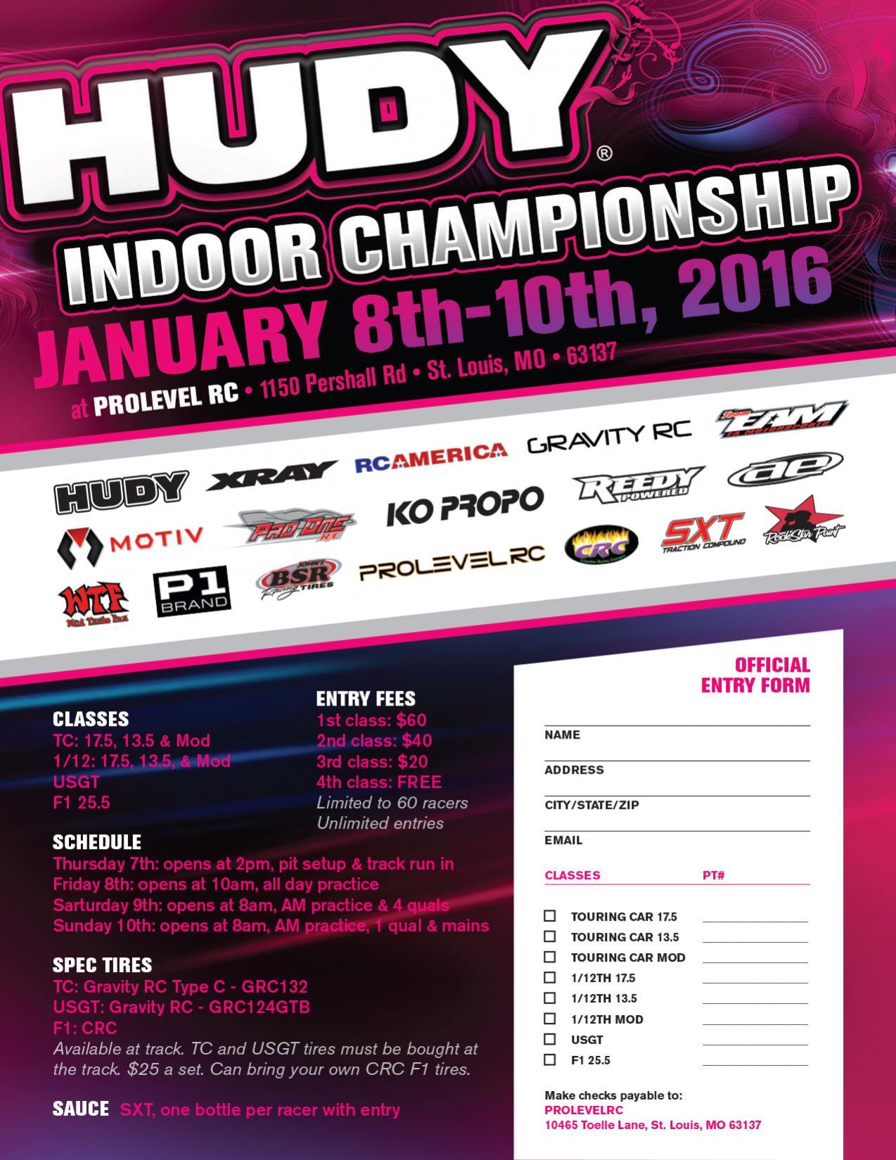 2016 Hudy Indoor Championship R C Tech Forums