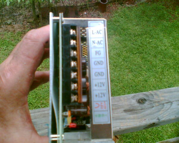 does anyone know how to wire a 240 v ac to 12v dc power supply?