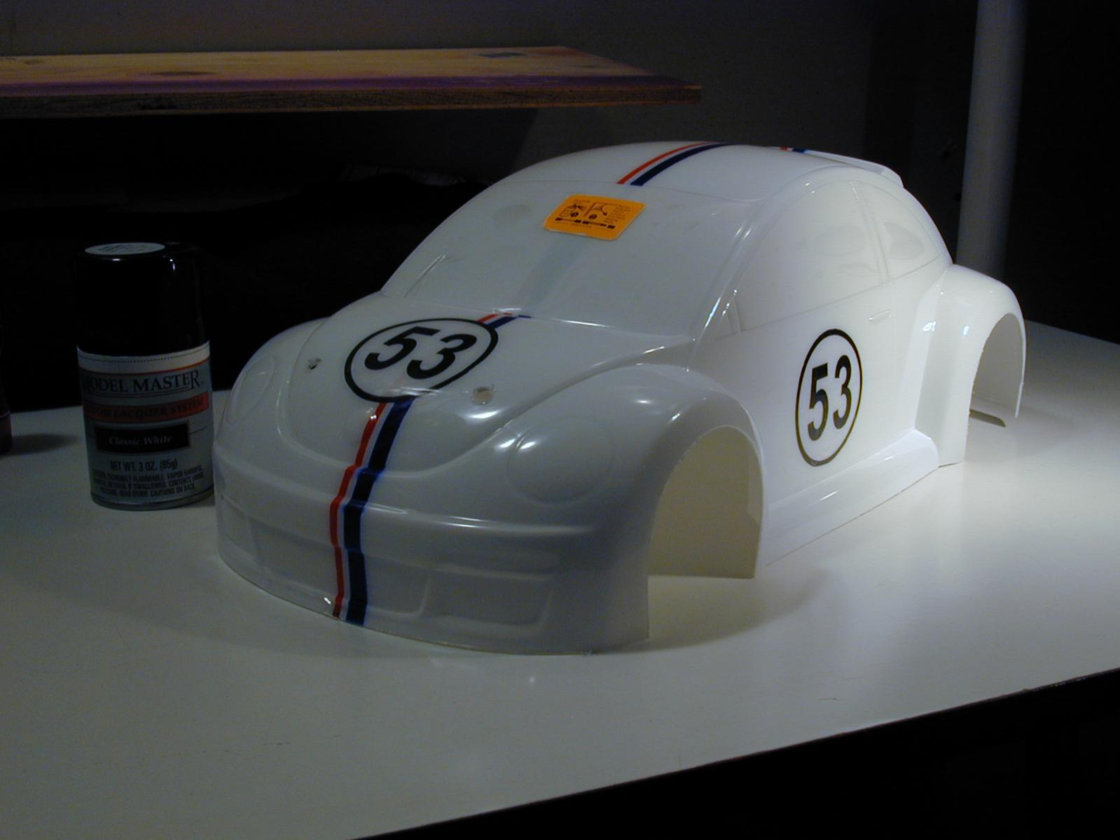classic Herbie Beetle!