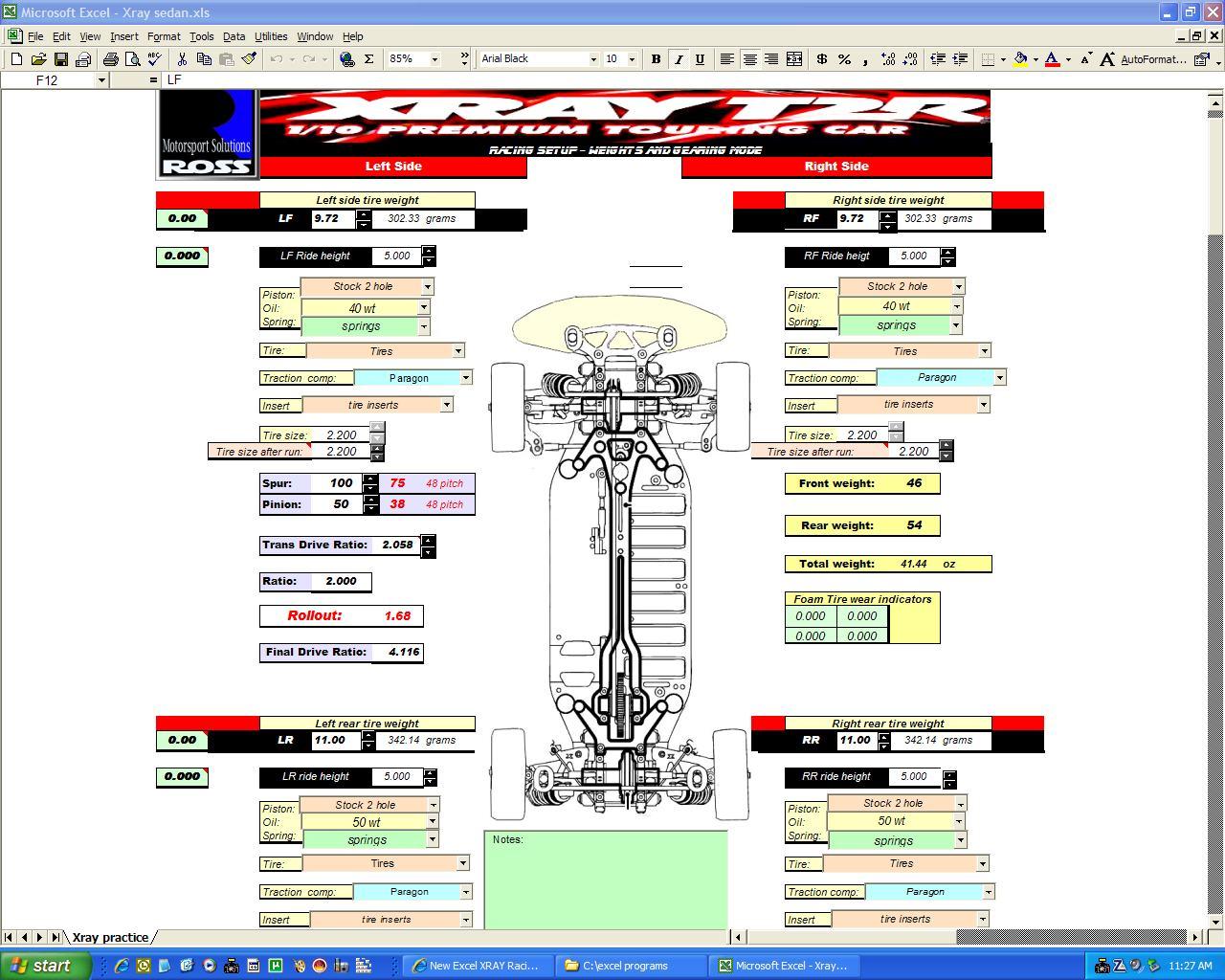 New Excel XRAY Racing Program - R/C Tech Forums