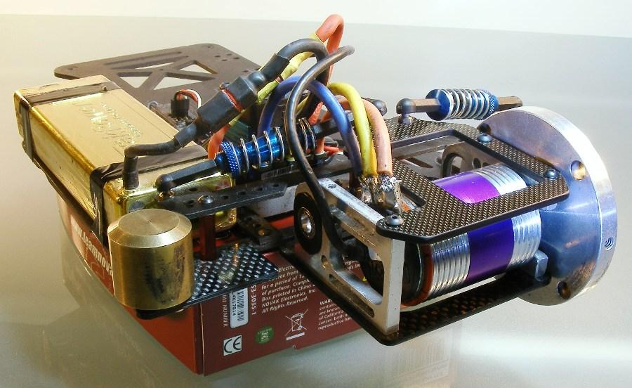 Dyno homemade using a novak sentry data logger for Rc electric motor dyno
