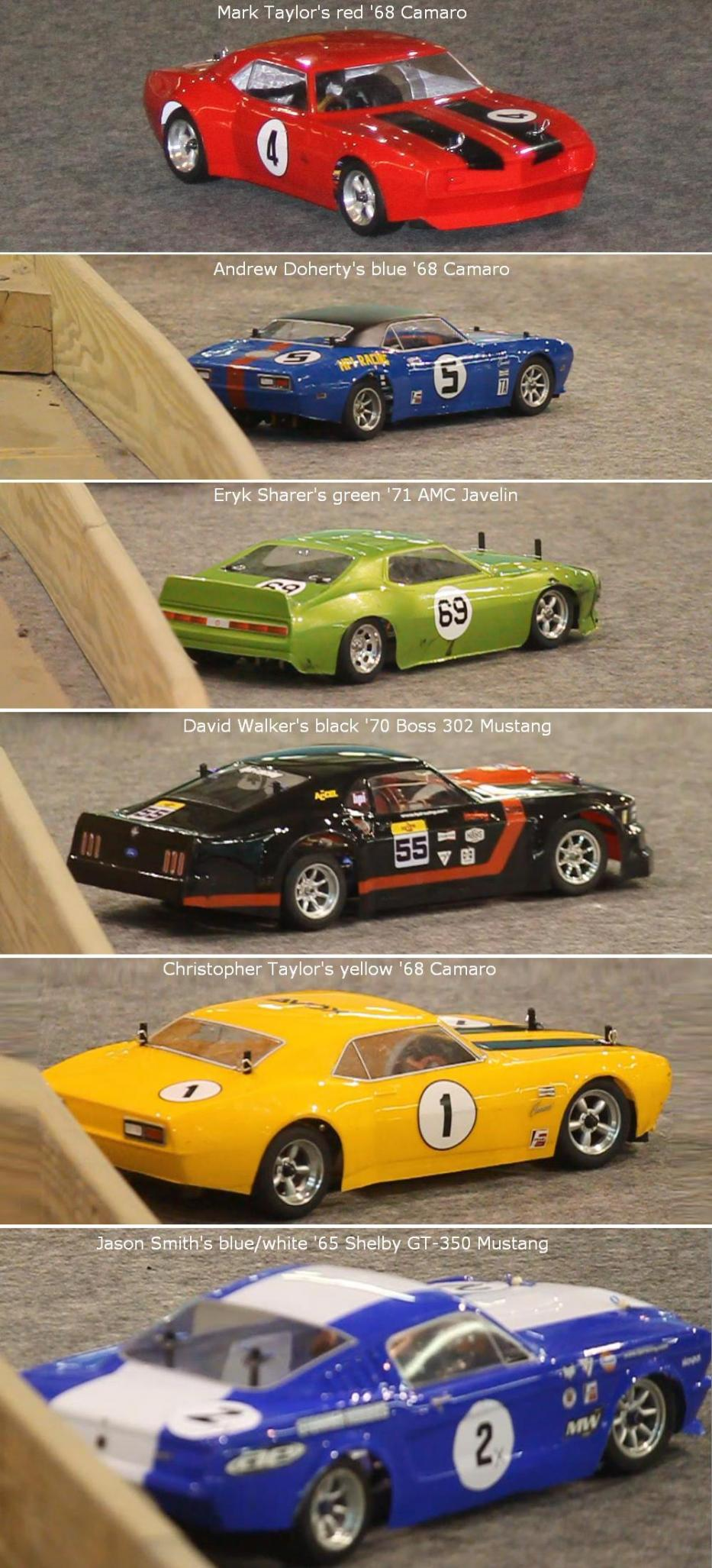 There were 6 racers at Mike's