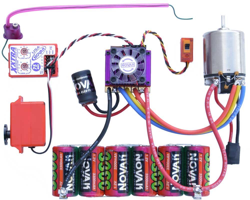 brushless motor wiring