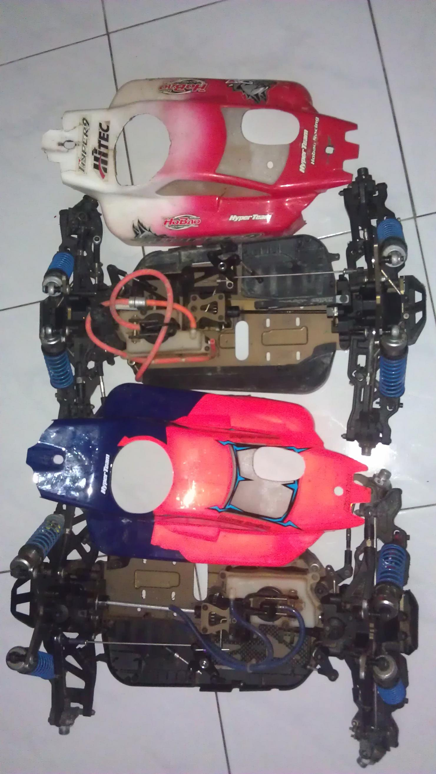 quit rc sale  hyper 9 1:8 pro kit buggy, sanwa MT4 and alpha