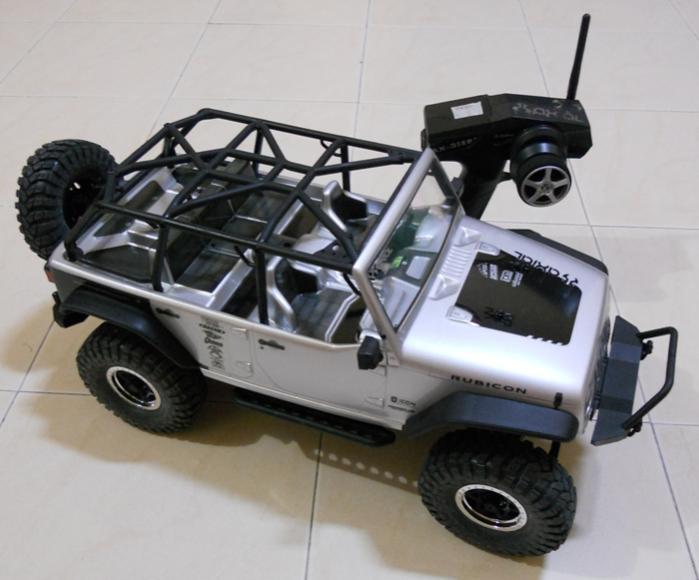 Axial Jeep Wrangler Rubicon : Axial scx scale crawler jeep wrangler unlimited rubicon