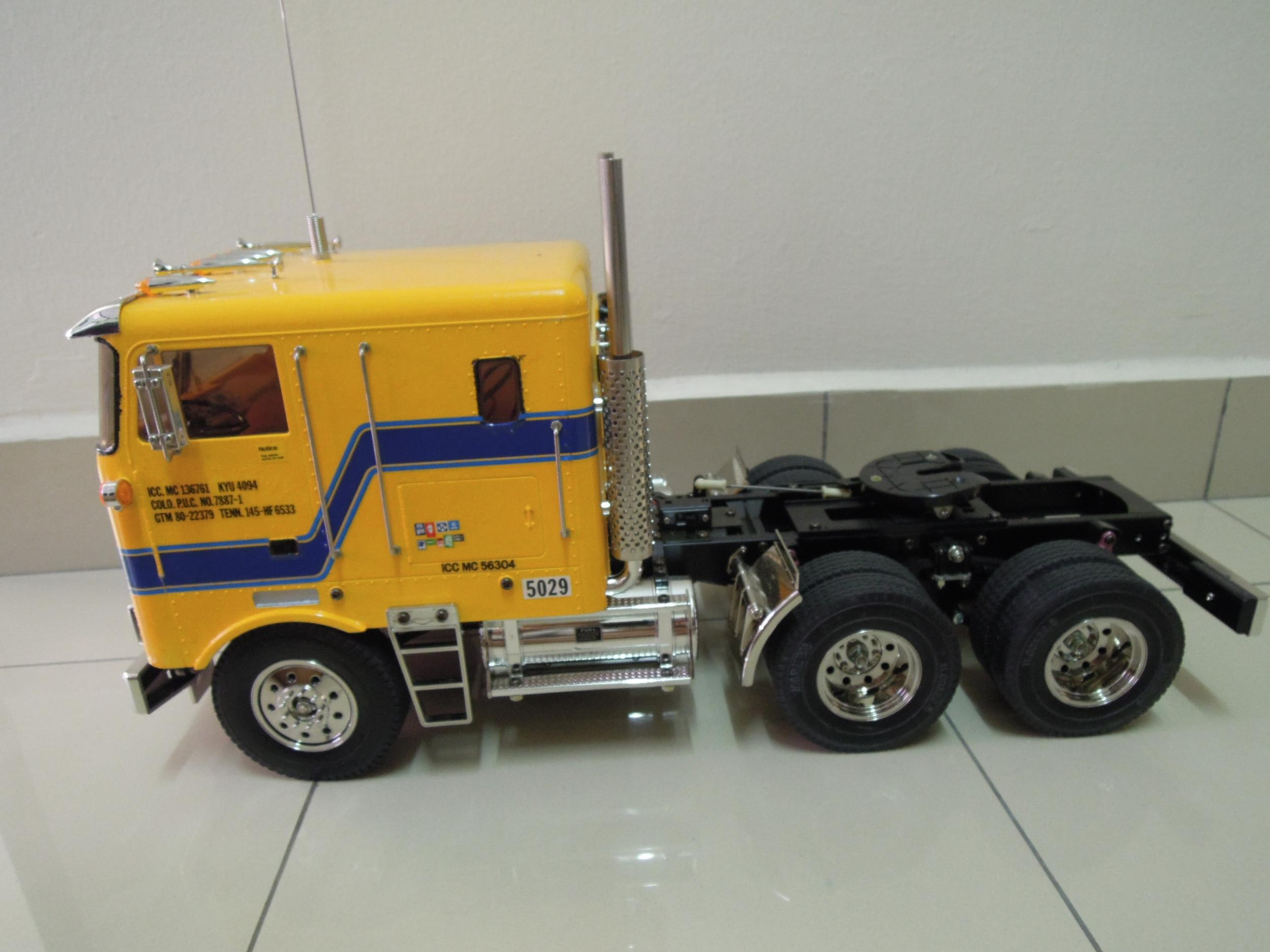 [WTS] Tamiya 1/14 RC Globe Liner Truck + Shell Tank ...