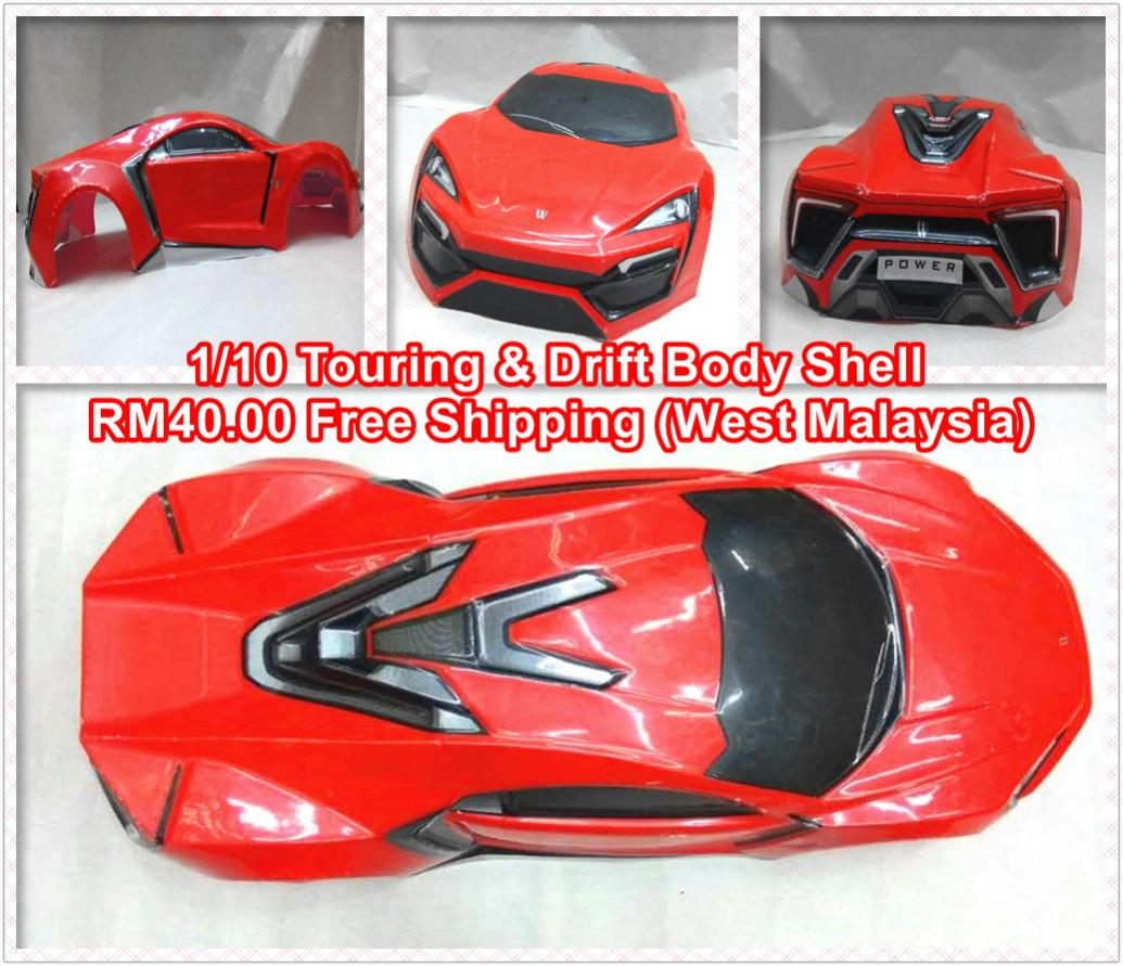 WTS] Clearance Stock 1/10 Touring & Drift RC Car Body Shell - R/C