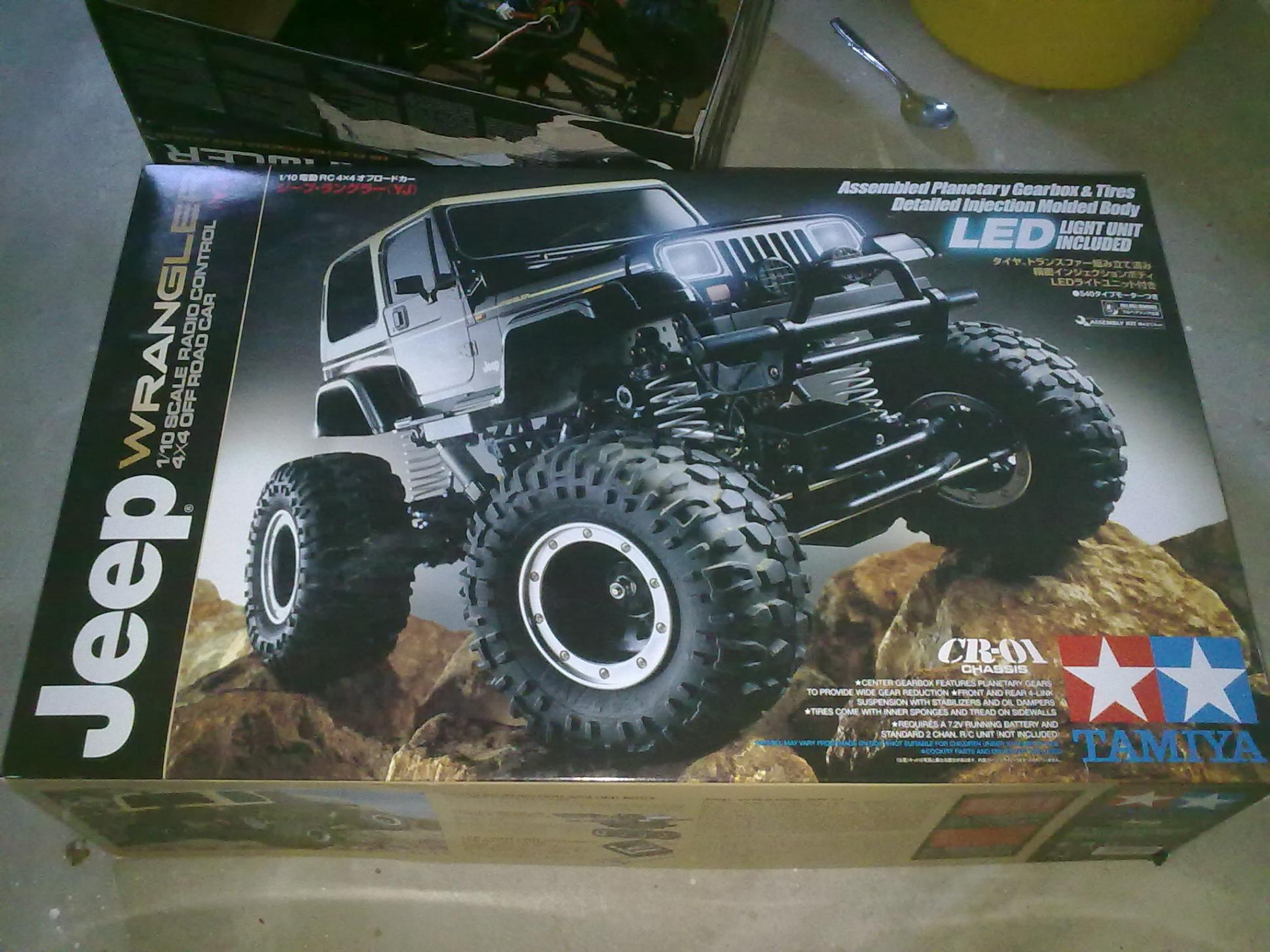 Tamiya Rc Jeep Wrangler Cr 01 Hard Cover R C Tech Forums
