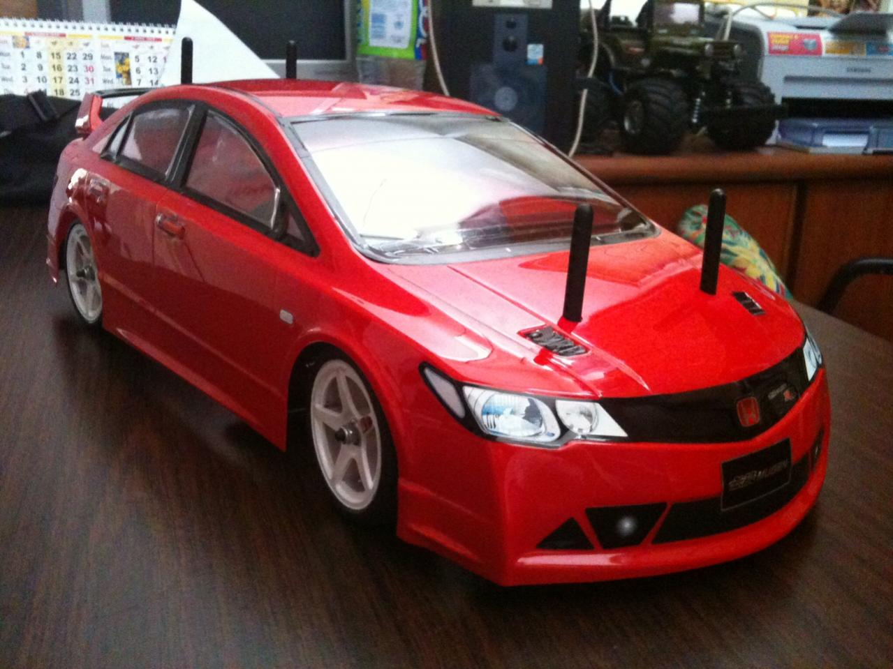 Tamiya Ff03 Pro With Fd Civic Type Rr R C Tech Forums