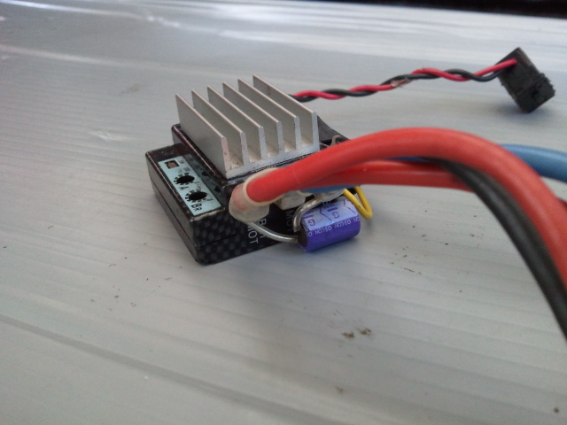 ESC Keyence EXSTRAIGHT (Brush Motor only) - R/C Tech Forums