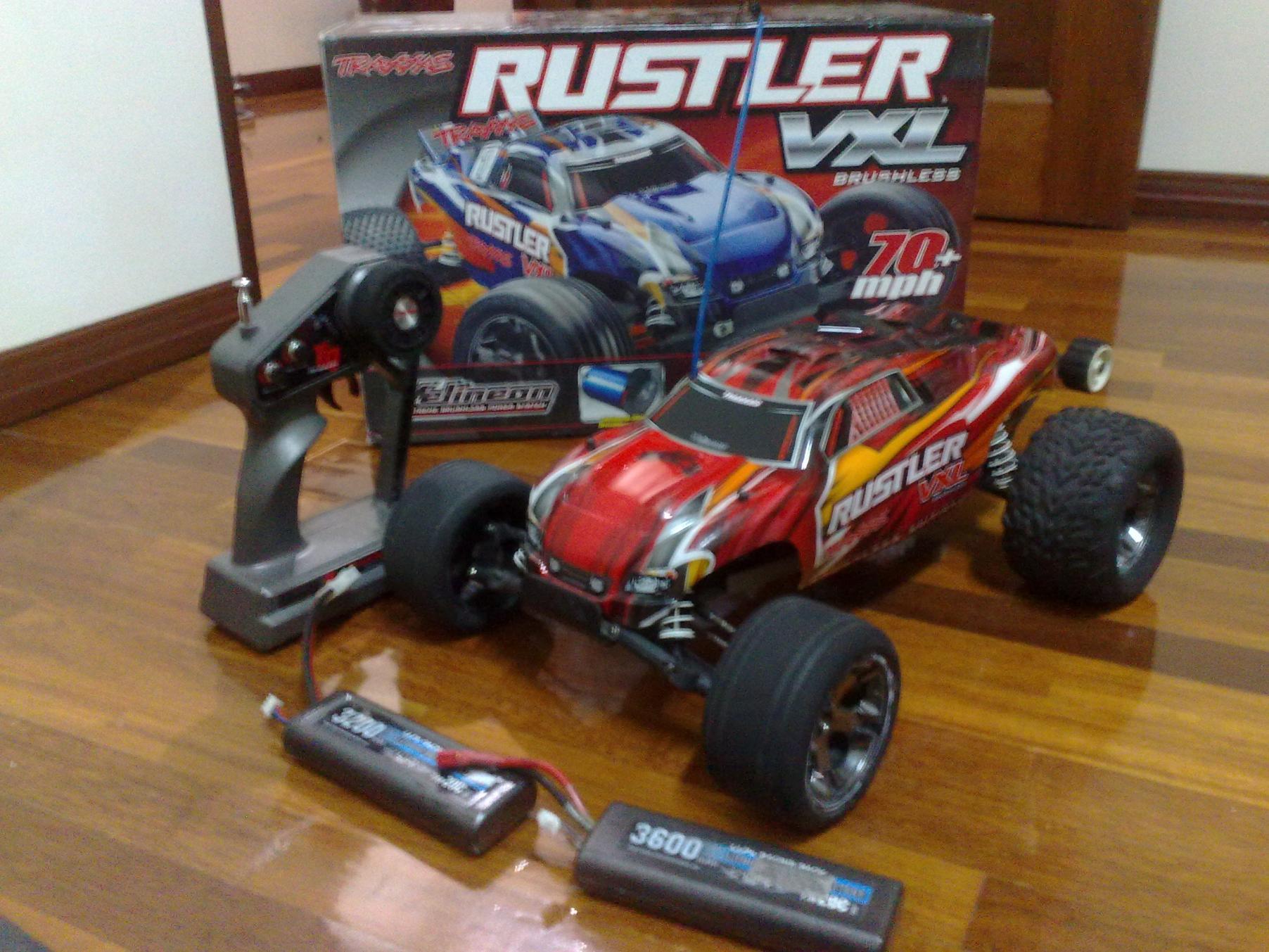 Traxxas rustler vxl for sale