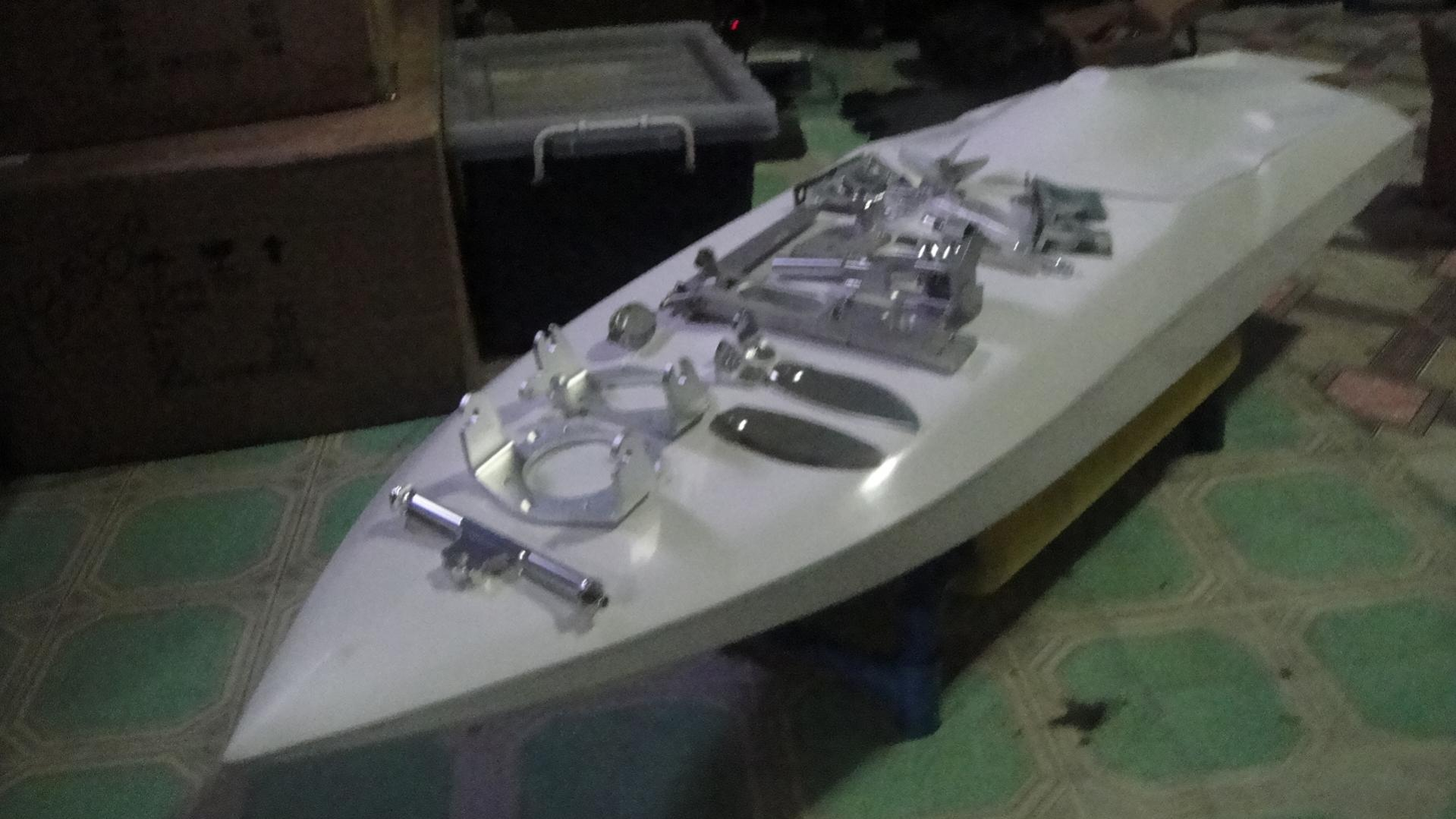 rc boats hardware