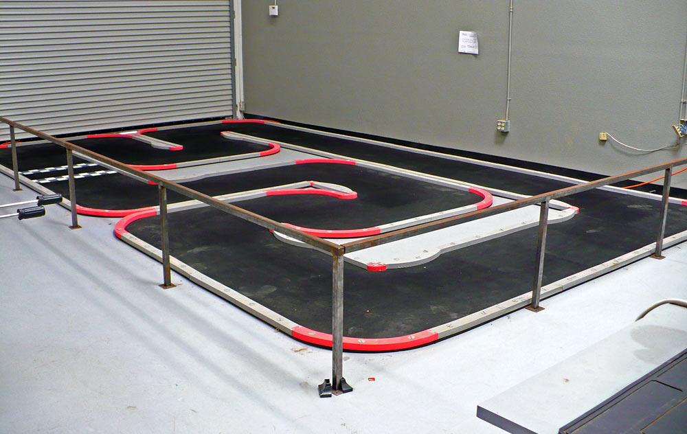 Houston Car Race Track