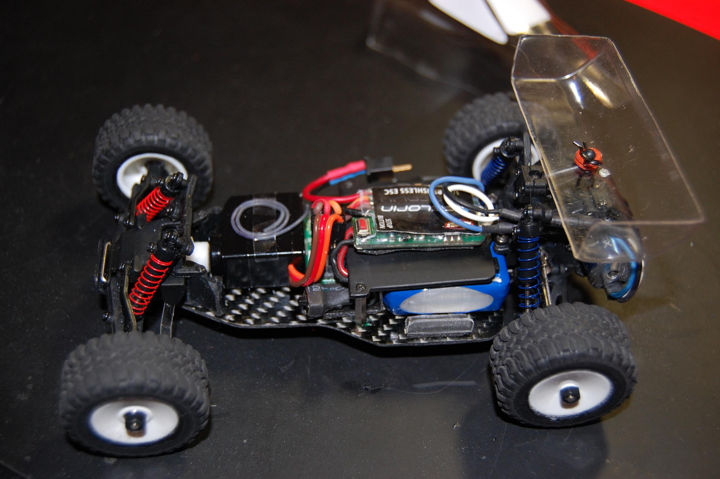 Team Bluegroove Micro Buggy Conversion micro buggy