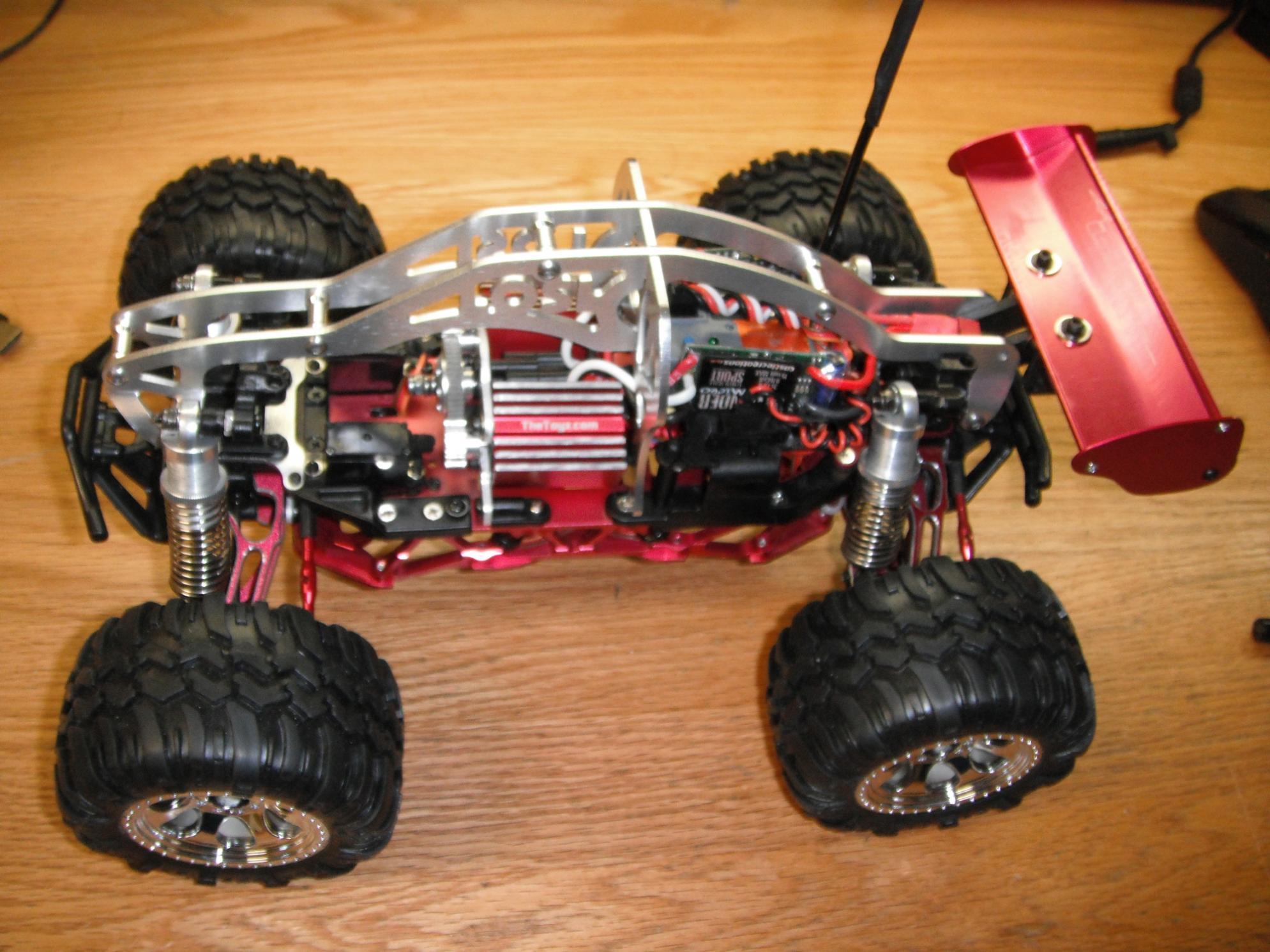 Dual Brushless Mini Lst Red Alluminum dscf2191