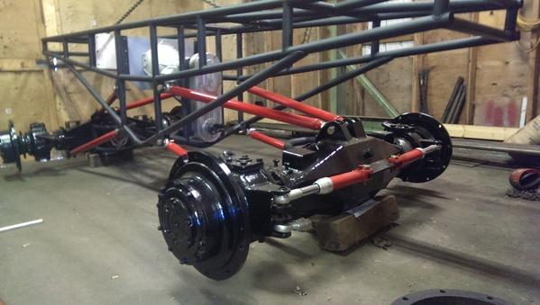 Race Car Monster Suspension