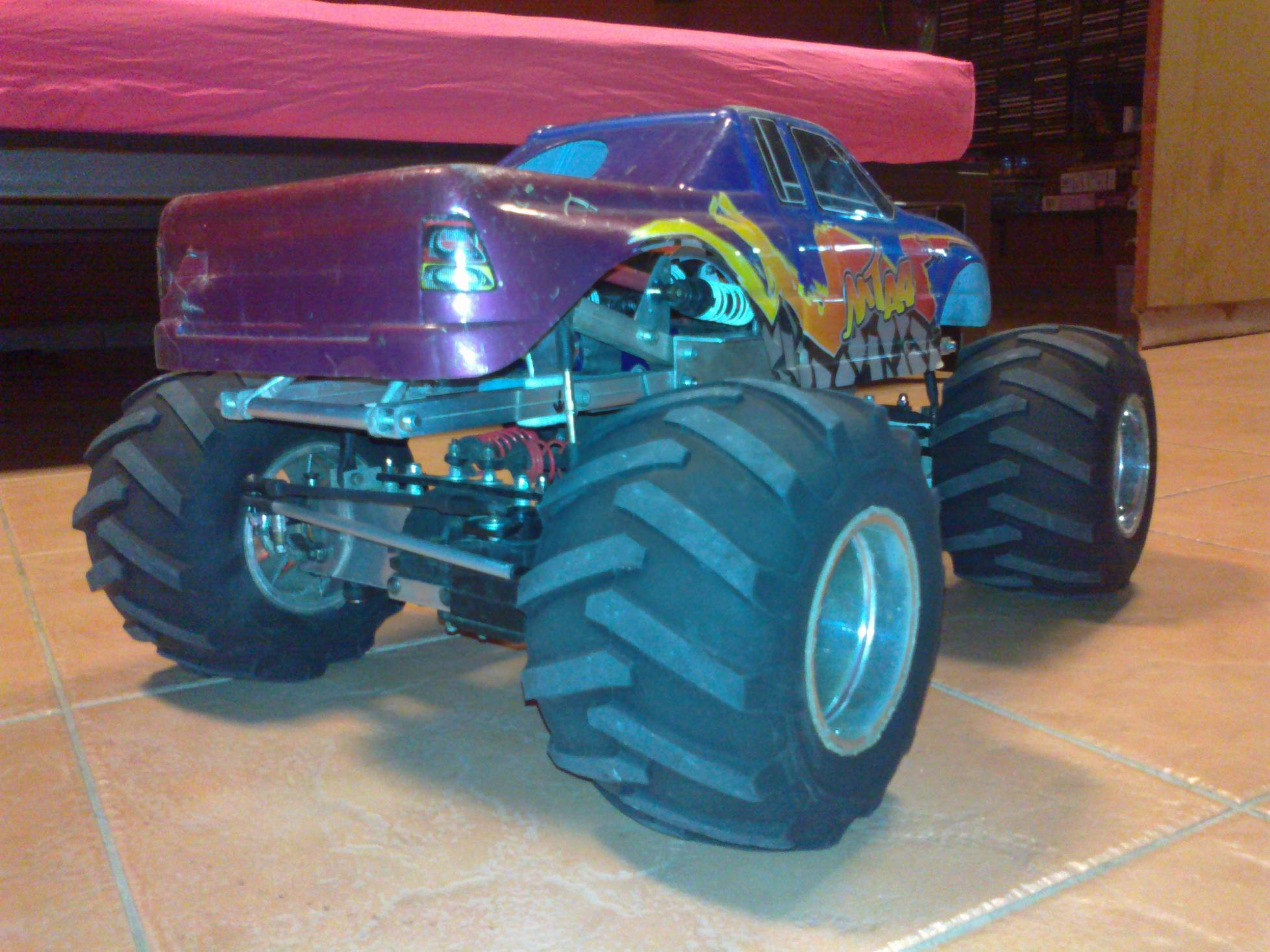 how to build a monster truck
