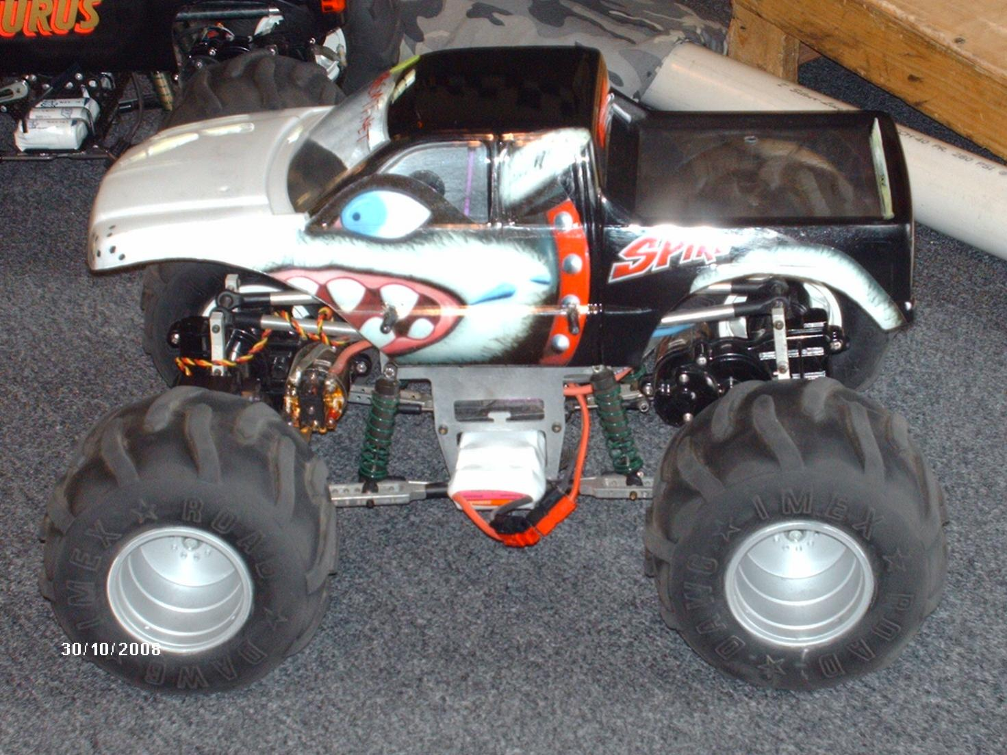 high end rc trucks with 196146 Clodbuster Learning How Modify on SeaSerpent besides 700hp 1967 Ford Mustang Custom By 360 Fabrication besides Product product id 430 also 196146 Clodbuster Learning How Modify together with 1973 Plymouth Barracuda Hemi Restomod.