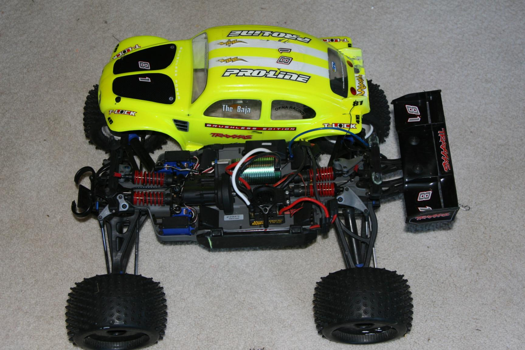 Traxxas summit to brushless img 0277